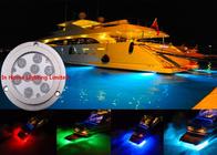 China 3M IP68 RF / Bluetooth Boat Underwater LED Lights Waterproof Energy Saving factory