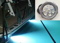 RGB LED Boat light , 316 Stainless Steel RF Control LED Drain Light
