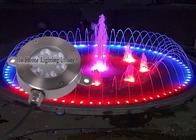 12V DC RGB 18W DMX Led Underwater Light 316SS IP68 LED Fountain Lights