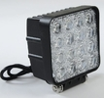 China 48 Watt LED Auto Car Head Lights 4*4 LEDs Waterproof IP 67 Truck Work Lights factory