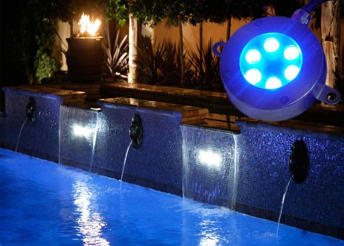18w color changing led pool lights 12v rgb 3 in 1 garden pond light