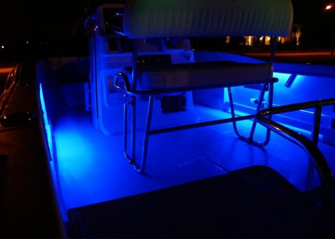 Round Underwater Led Boat Lights Dimmable 12v Led Boat
