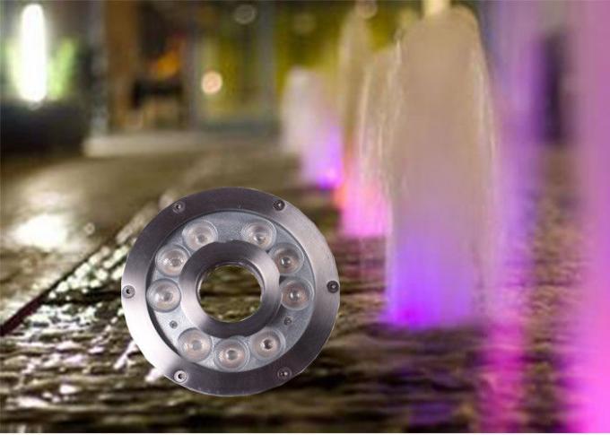 12v 24v 9watt Led Underwater Light For Fountains Led