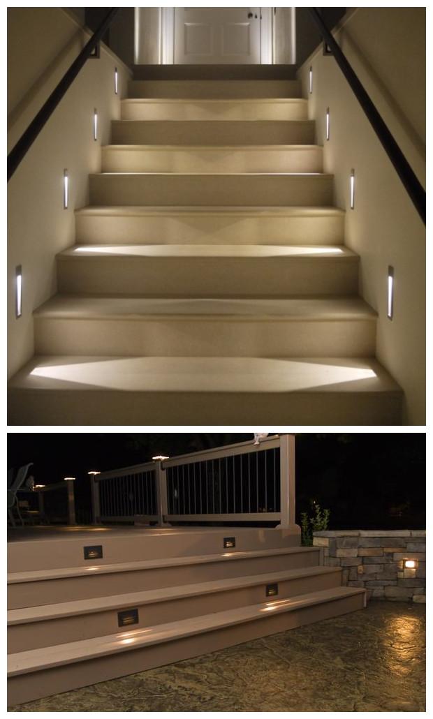 Recessed Led Wall Lights Ip65 Aluminum